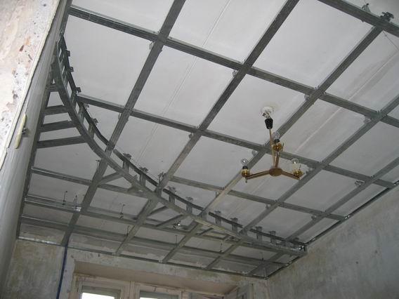 Многоуровневый потолок из гипсокартоном своими руками