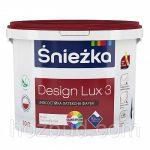 Матовая латексная краска ŚNIÉZKA DESIGN LUX (Снежка Дизайн Люкс)