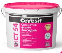 Краска фасадная Церезит СТ 54 Силикатная