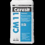 Клеящая смесь для плитки CERESIT CERAMIK CM11 25кг