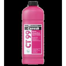 Грунтовка антимикробная добавками Ceresit СТ 99, 1лт
