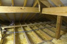 Утепление крыши стеловатой