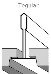 Кромка тегулар