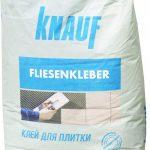 Клей для плитки Кнауф Флизенклебер
