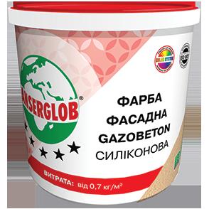 Краска фасадная ANSERGLOB GAZOBETON СИЛИКОНОВАЯ