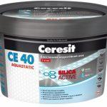 Затирка CE 40 aquastatic Эластичный водостойкий цветной шов