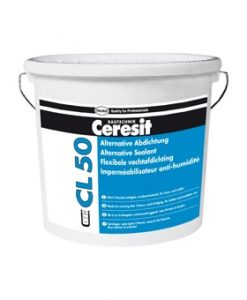 Двухкомпонентная гидроизоляционная мастика Ceresit CL 50