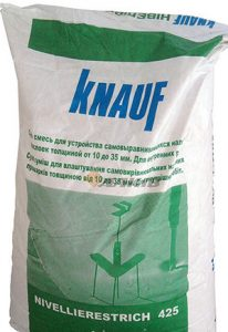Самовыравнивающая смесь Нивелирэстрих 425 40 кг KNAUF