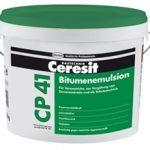 Битумная гидроизоляционная эмульсия Ceresit CP 41