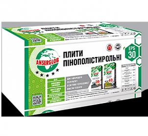 Пенопласт ANSERGLOB EPS 30