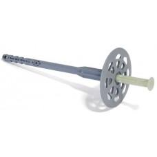 Дюбель зонтик с пластиковым гвоздем для фасада 10 х 140 ,100 шт