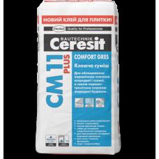 Клеящая смесь для плитки CERESIT CERAMIK CM11 plus 25кг