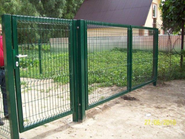 Ворота и калитки из сварной сетки